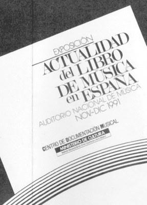 Actualidad del libro de música en España