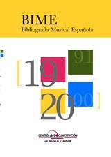 BIME. Bibliografía musical española