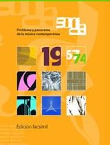 Sonda. Problema y panorama de la música contemporánea (1967-1974)