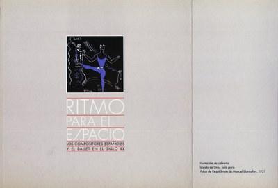 Ritmo para el espacio: los compositores españoles y el ballet en el siglo XX