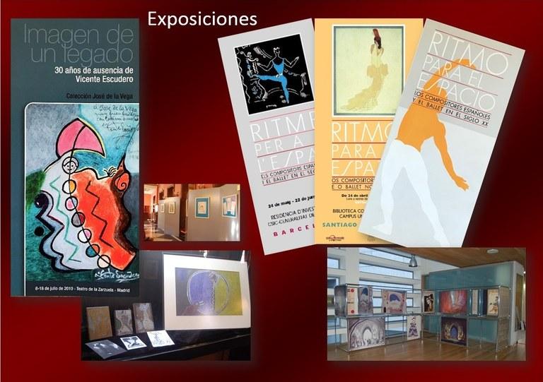 Exposiciones Danza