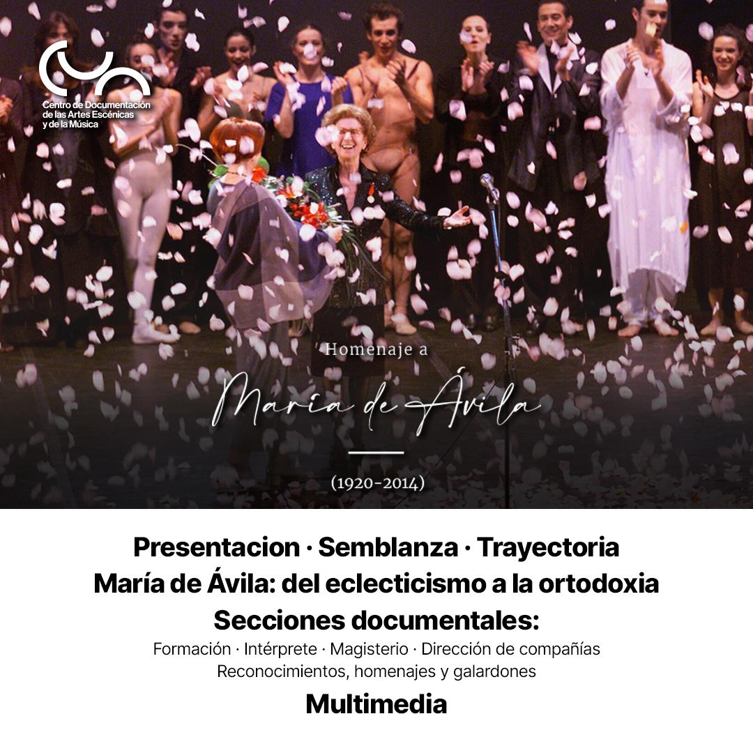 Homenaje a María de Ávila (1920-2014)
