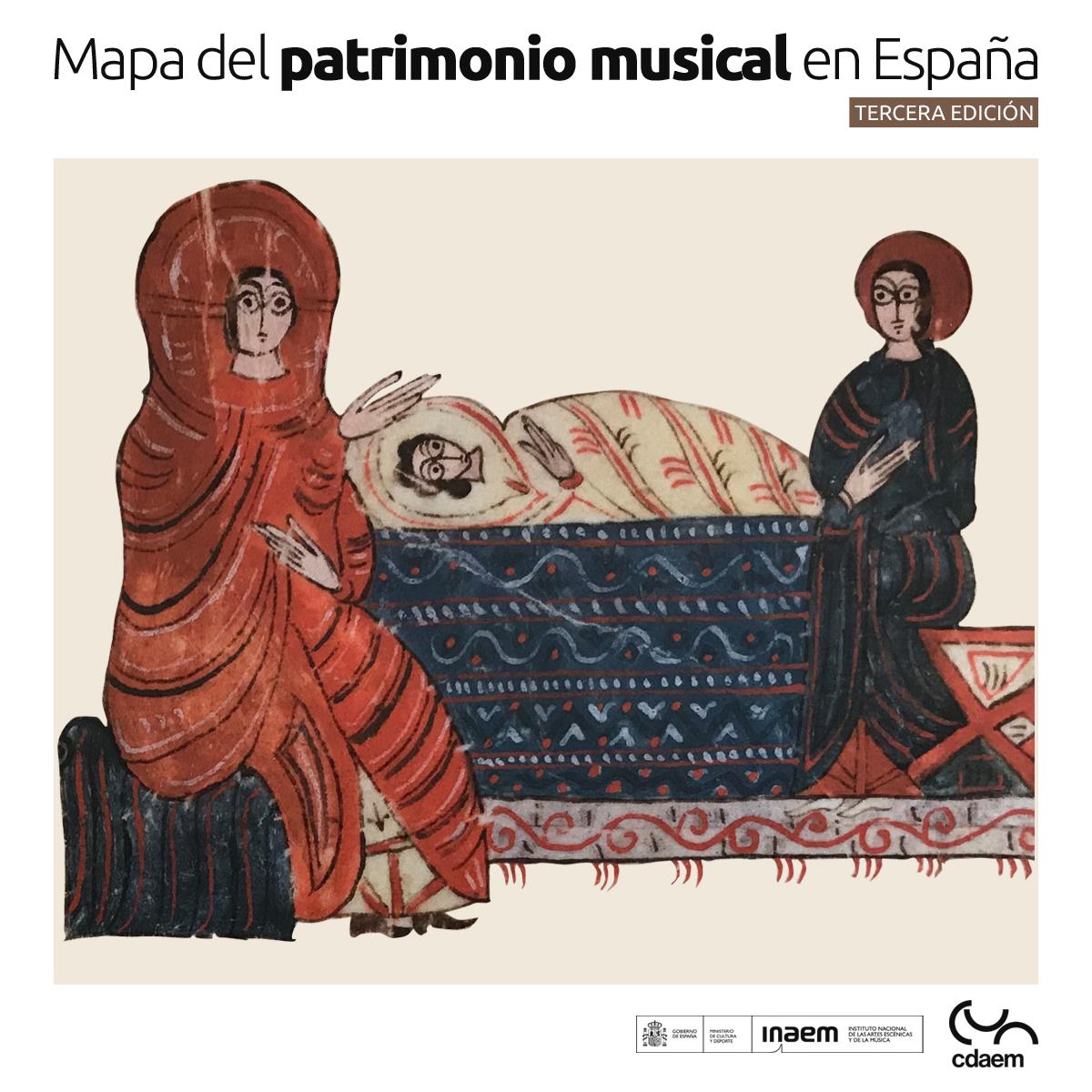 Nueva edición del Mapa del Patrimonio Musical en España