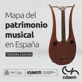 """El CDAEM publica un nuevo """"Mapa del patrimonio musical en España"""""""