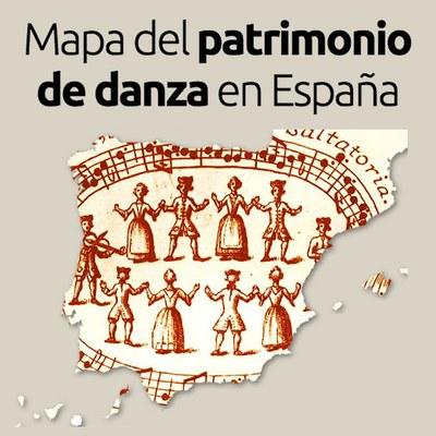 Mapa del patrimonio de la danza en España
